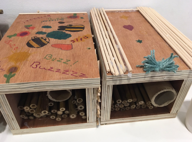 A luxury insect hotel
